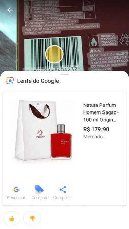 google lens aplicativo identifica produtos