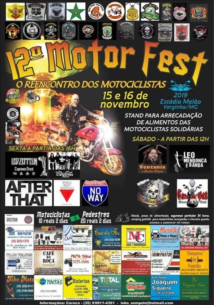 Varginha Motor Fest começa nesta quinta com motociata. Confira as atrações de sexta e sábado - Varginha Digital