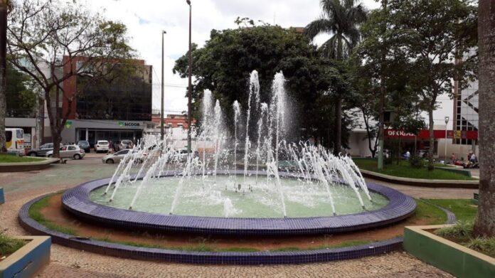 praça da fonte varginha