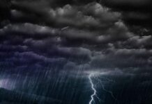tempestade chuva