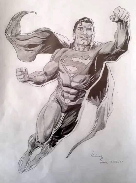 desenho super homem