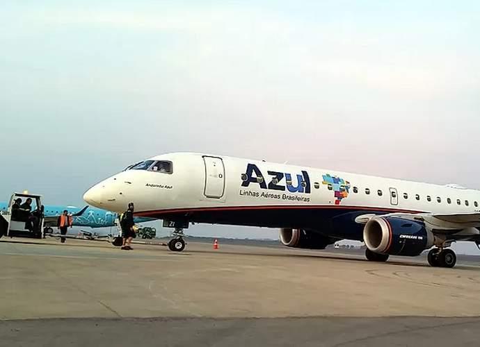 azul voos varginha