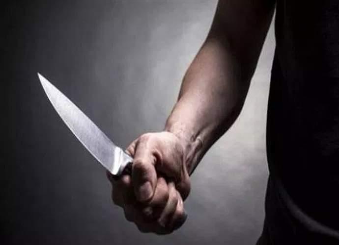 ameaça com faca em varginha