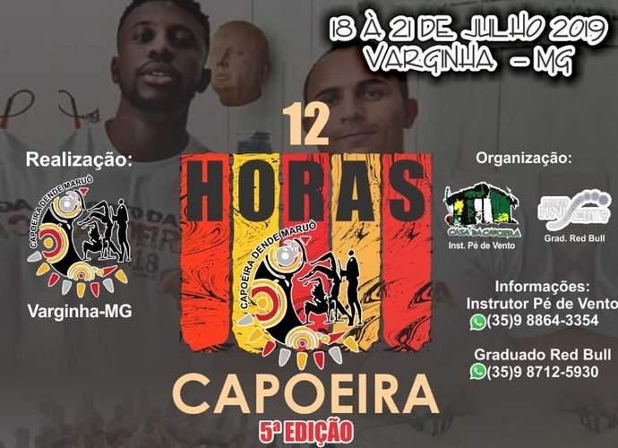 encontro internacional de capoeira em varginha