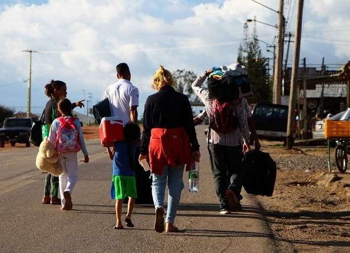 familia de venezuelanos