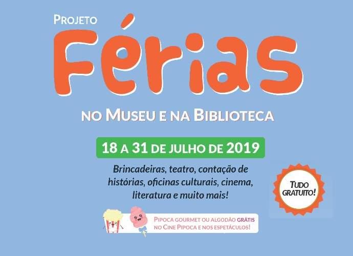 Projeto Ferias no Museu e na Bilbioteca em Varginha