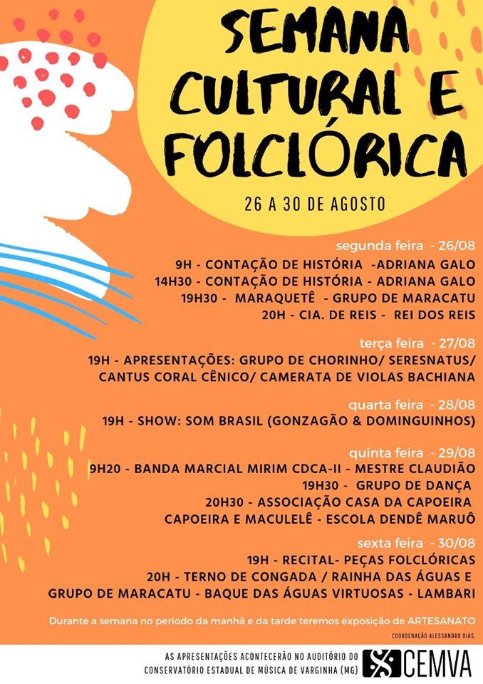 Semana Cultural e Folclórica
