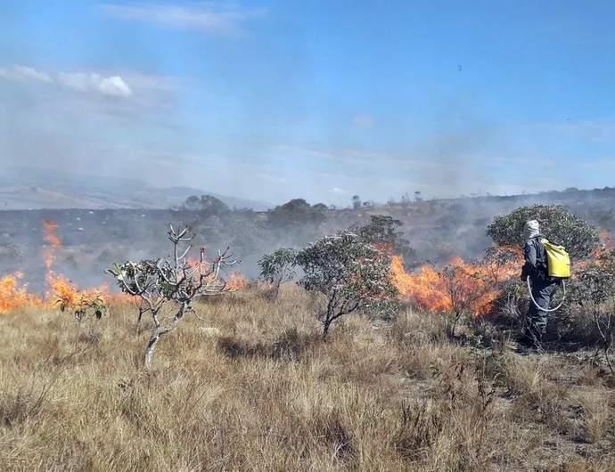 Incêndio em Carrancas