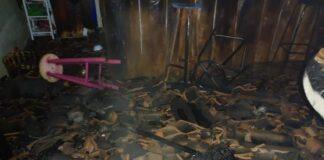 Incêndio no bairro Alto do Pinheiros
