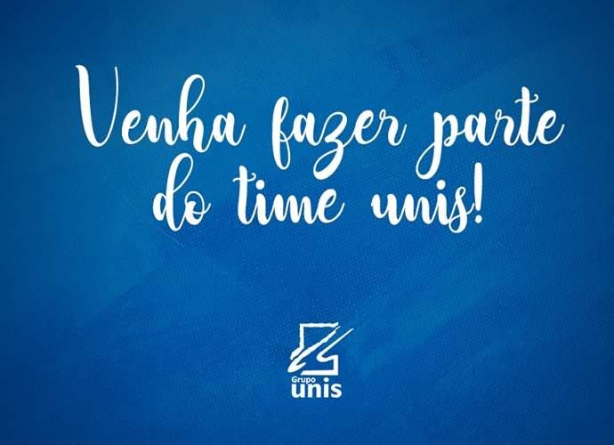 grupo unis divulga novas oportunidades em Varginha