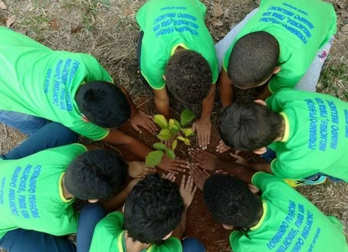 alunos projeto escola tempo integral varginha