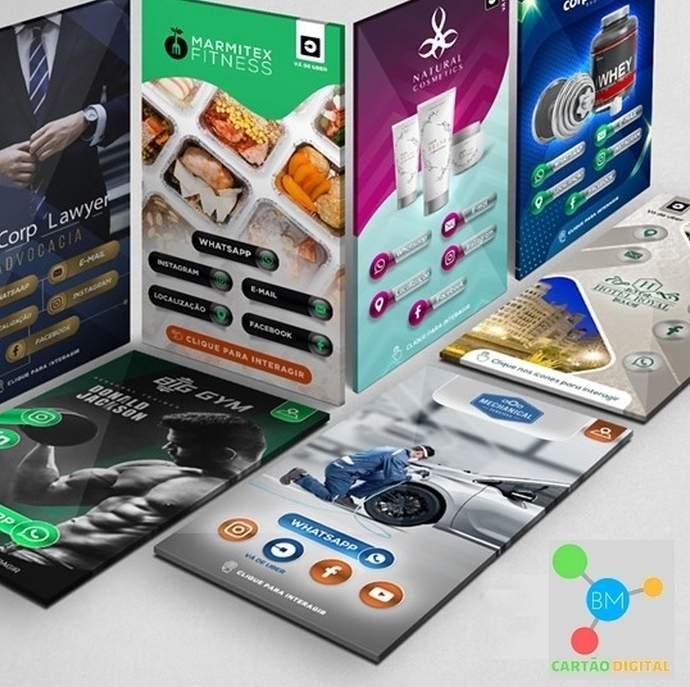 cartao digital interativo