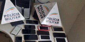celulares roubados em alfenas