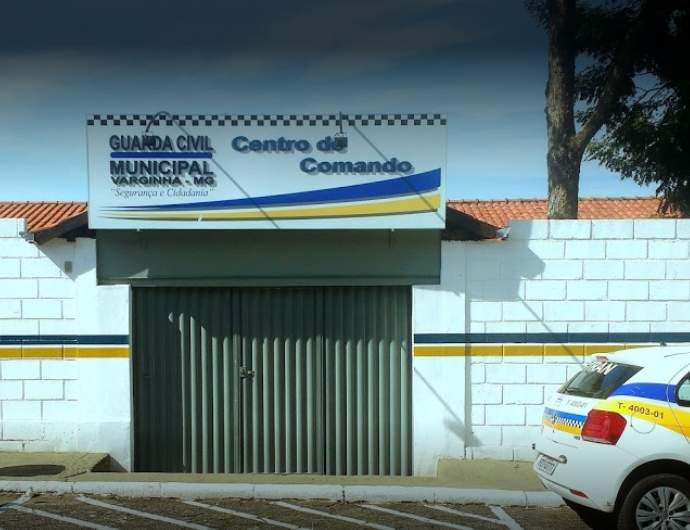 Sede da Guarda Municipal de Varginha / Foto Google Maps