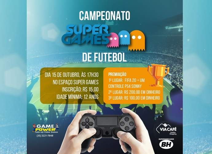 campeonato de video game varginha