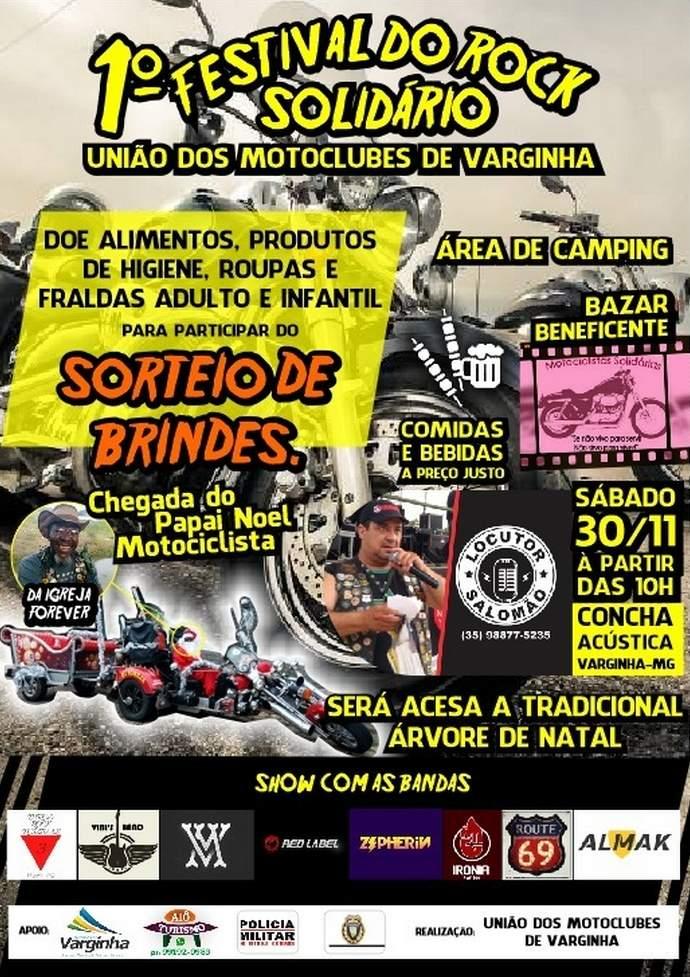 festival de rock solidario varginha