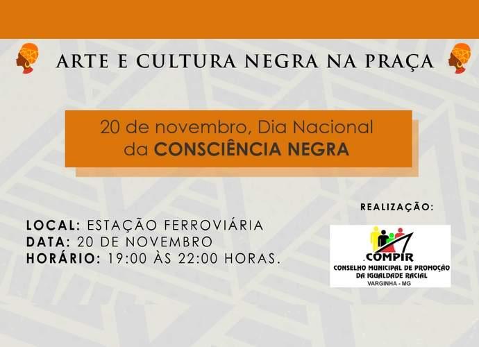 Dia Nacional da Consciência Negra será comemorado na Estação