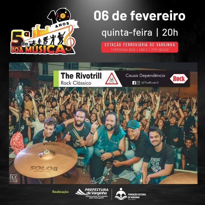 5ª da boa música 2020 banda the rivotrill