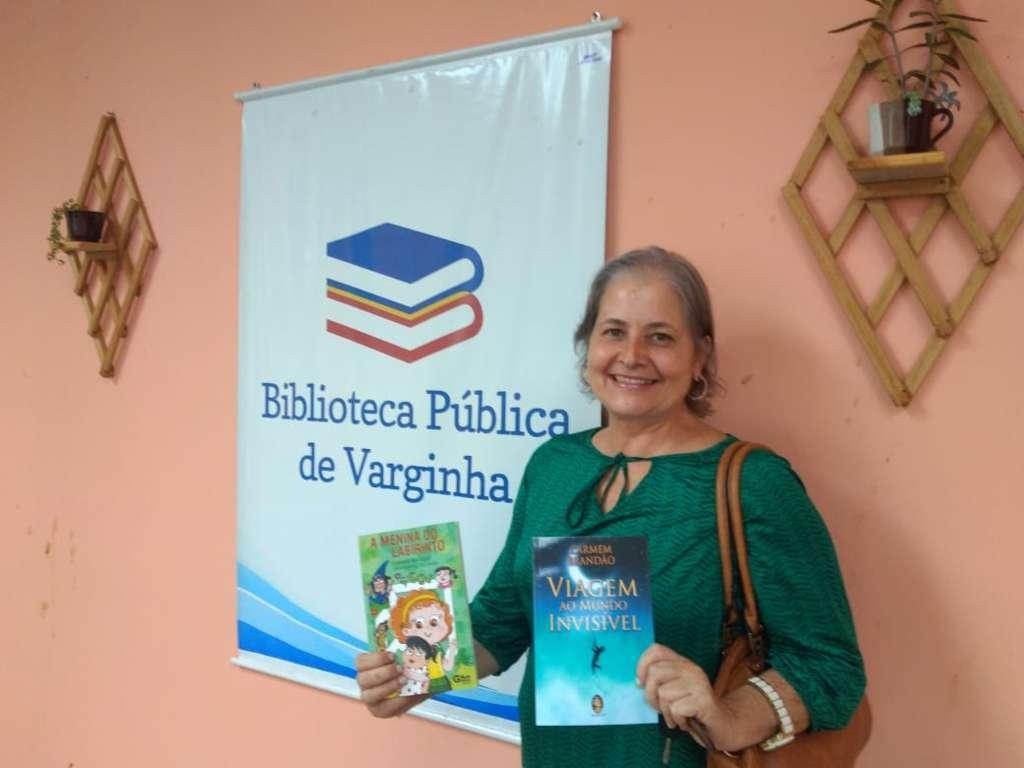 escritora Carmem Brandão Varginha