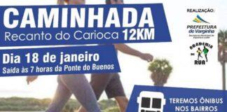 caminhada recanto do carioca varginha