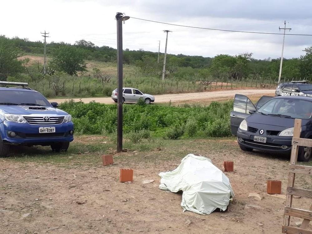 polícia civil na fazenda