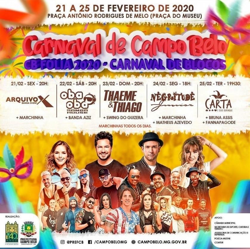 Carnaval 2020 Campo Belo