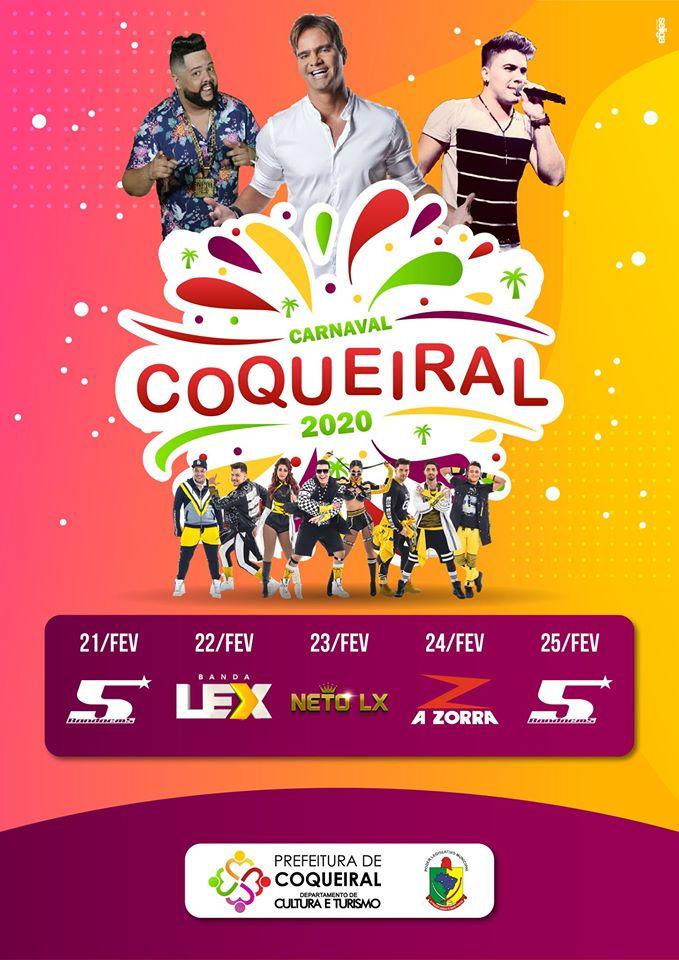 Carnaval Coqueiral 2020 A Zorra