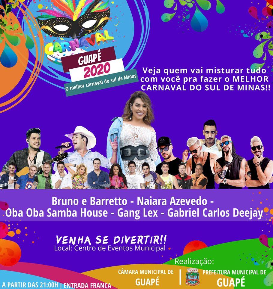 Carnaval Guapé 2020