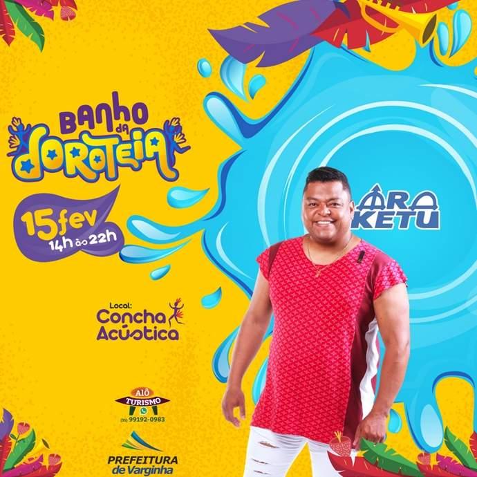 carnaval varginha 2020 banho da doroteia