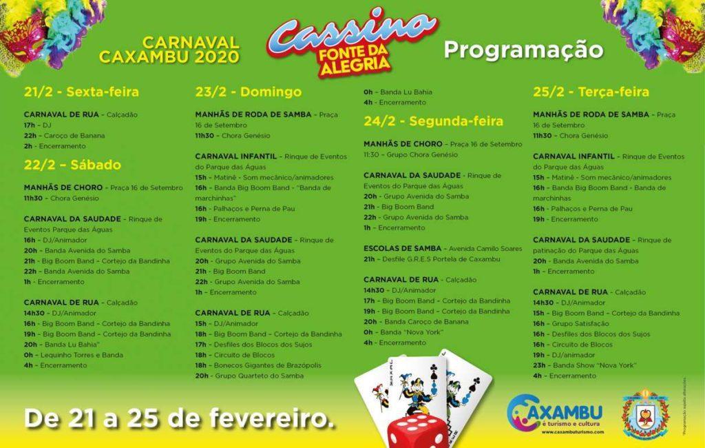 Carnaval Caxambu 2020