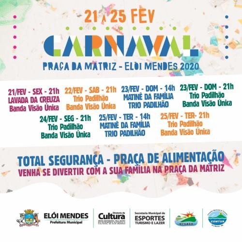 Carnaval 2020 Elói Mendes