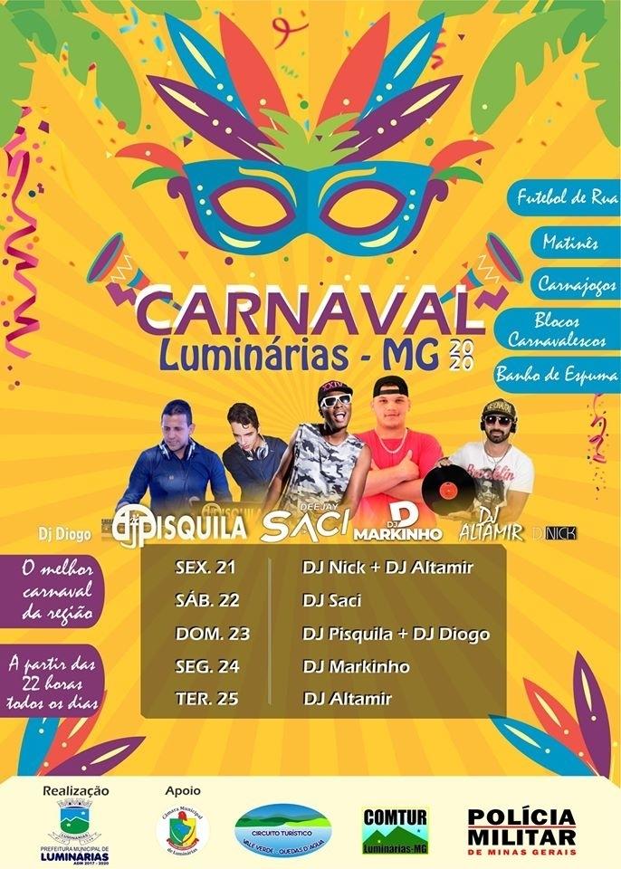 Carnaval 2020 Luminárias