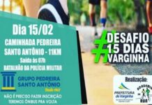 Caminhada Pedreira Antonio Antonio 2020