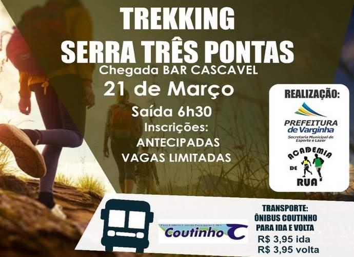 1º Trekkink Serra de Três Pontas Academias de Rua Semel Varginha
