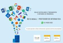 Beto Menali Professor de Informática em Varginha Google for Education