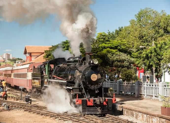 trem Águas da Mantiqueira de Minas