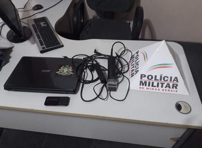 produtos recuperados polícia militar varginha