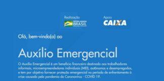site caixa auxílio emergencial coronavoucher