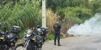 guarda municipal fogo