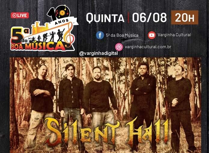 silent hall 5ª da boa música vrginha