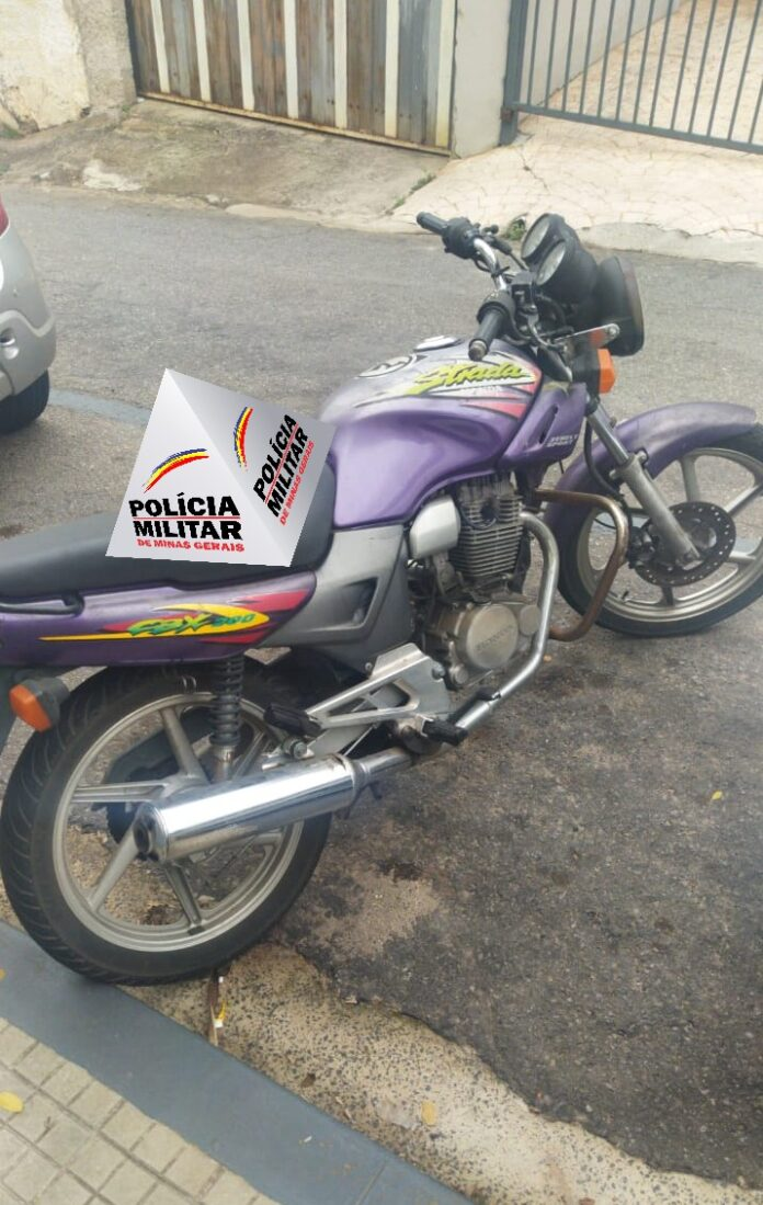 motocilceta furtada