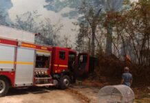 Incêndio em Varginha
