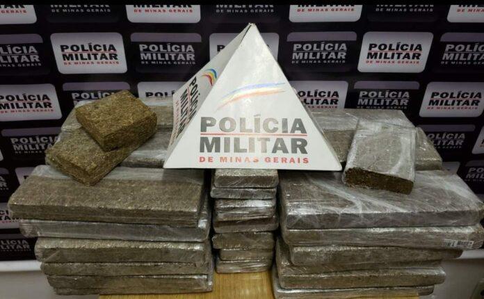 Polícia Militar faz apreensão de drogas em Varginha