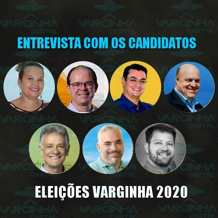 entrevista candidatos a prefeito de Varginha