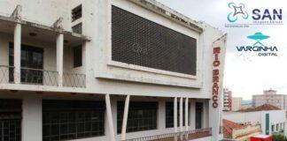 Prédio do Cine Rio Branco em Varginha