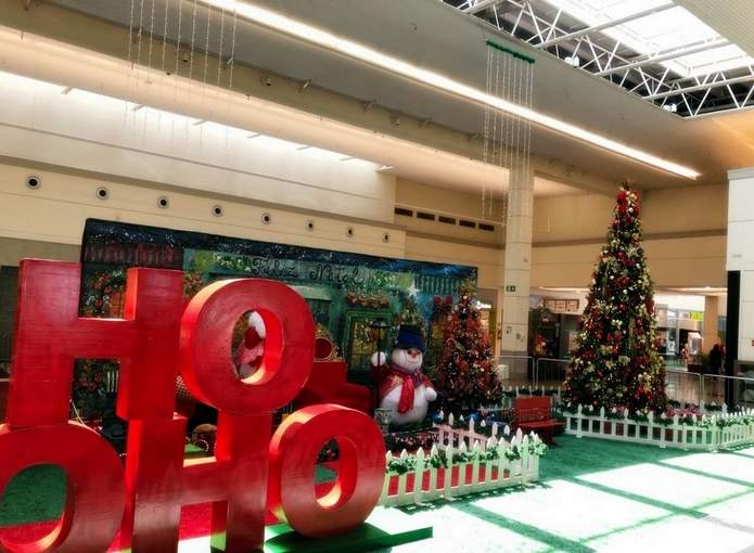 papai noel shopping