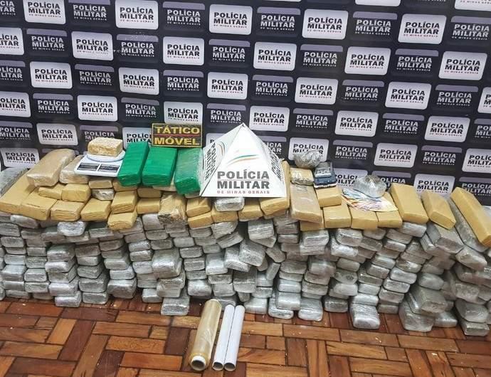 Polícia Militar apreende drogas em Varginha