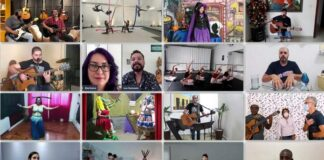 Artistas fazem apresentações em Varginha