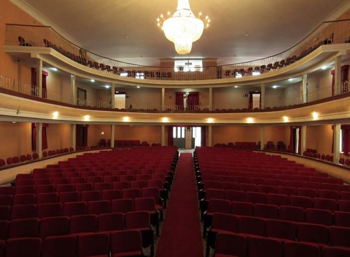teatro capitólio varginha interior