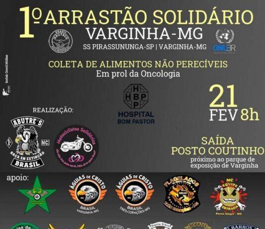 1º Arrastão Solidário Varginha